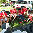 View from the tailgate
